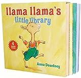 img - for Llama Llama's Little Library: Llama Llama Wakey-Wake/Llama Llama Hoppity-Hop/Llama Llama Zippity-Zoom/Llama Llama Nighty-Night by Anna Dewdney (3-Oct-2013) Board book book / textbook / text book