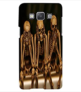 ColourCraft Funny Skeletons Design Back Case Cover for SAMSUNG GALAXY A5 A500F
