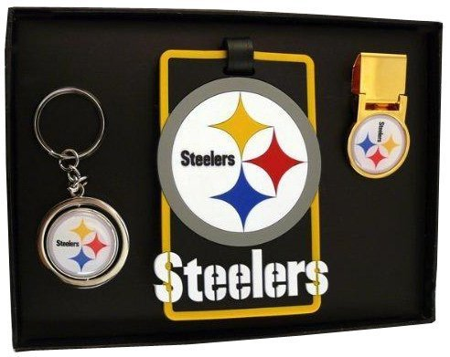 Pittsburgh Steelers Three Piece Sports Fan Pack from Aminco