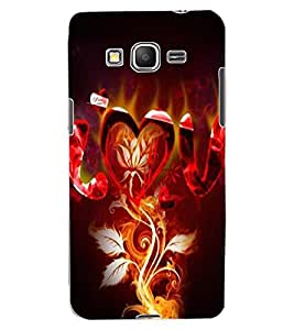 ColourCraft Love Design Back Case Cover for SAMSUNG GALAXY GRAND PRIME G530H