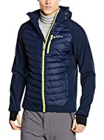 Peak Mountain Chaqueta Soft Shell Capaso (Azul Marino)