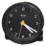 BNC001 Round Braun Quartz Alarm Clock, Black, 2011 - Compares to AB5
