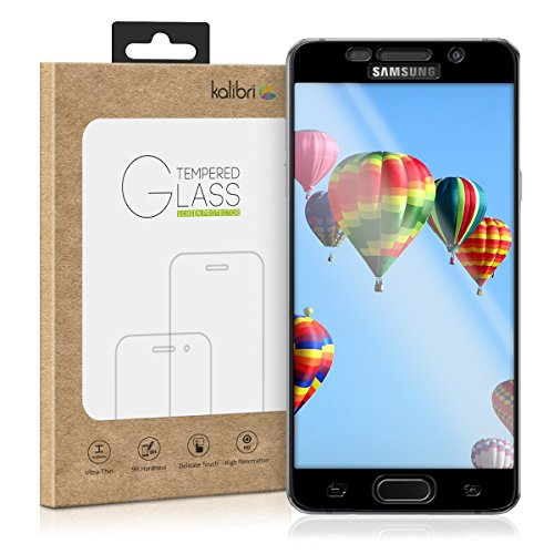 kalibri-Echtglas-Displayschutz-fr-Samsung-Galaxy-A5-2016-3D-Curved-Full-Cover-Screen-Protector-mit-Rahmen-in-Schwarz