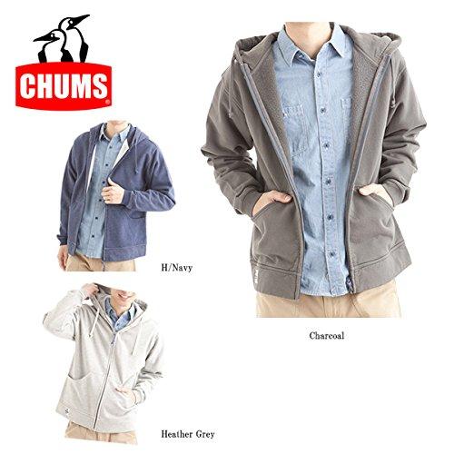 (チャムス)CHUMS Zip Parka CH00-0582  H/Grey XXL