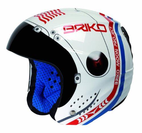 Briko Rookie, Casco da sci, 013216F040-52, Bianco