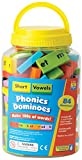 Educational Insights Phonics Dominoes Short Vowels
