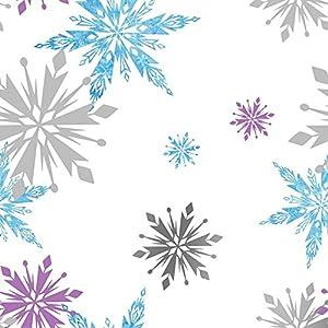 Papel pintado de copos de nieve de disney frozen amazon - Papel pintado amazon ...