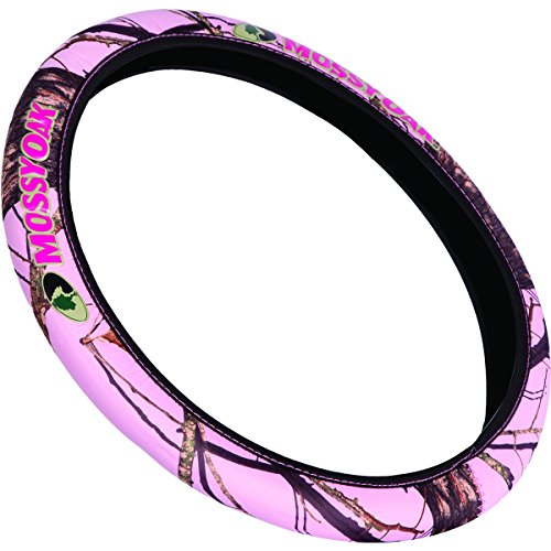 Mossy Oak Neoprene Steering Wheel Cover (Mossy Oak Pink Break-Up Camouflage, Sold Individually) (Up Wheels compare prices)