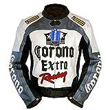 4LIMIT Sports Biker Motorradjacke >>Corona<< Lederjacke Motorrad Leder Jacke
