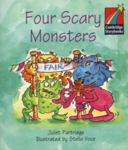CS1: Four Scary Monsters ELT Edition (Cambridge Storybooks)