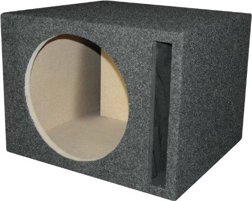 "Car Stereo Dual 10/"" Slot Ported Subwoofer Labyrinth SPL Bass Speaker Sub Box"