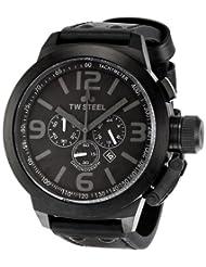 TW Steel Men's TW821 Canteen Black Dial Watch