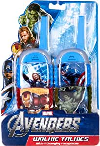 marvel avengers walkie talkies toys games. Black Bedroom Furniture Sets. Home Design Ideas