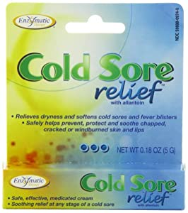 Enzymatic Therapy Cold Sore Relief, .18-Ounces (Pack of 2)