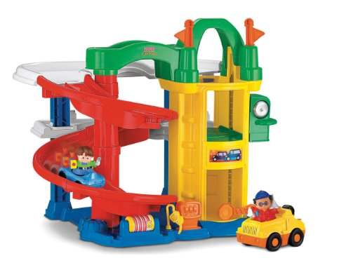 51N5sEX6kpL Cheap Buy  Fisher Price Little People Racin Ramps Garage