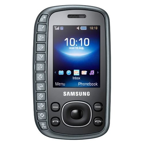 Samsung B3310 Unlocked Cell Phone with 2 MP Camera - International Version with No Warranty (Titan Gray)