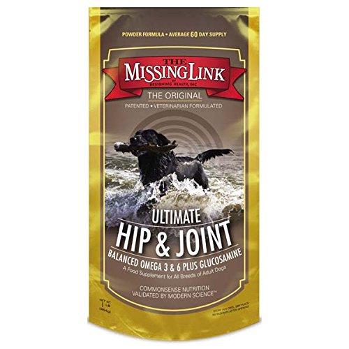 Missing Link Ultimate Hip, Joint & Coat Dog Supplement, 1 LB