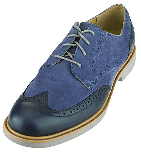 Cole Haan Men's Great Jones Wingtip II Shoes (10.5, Blue Indigo) (Cole Haan New compare prices)