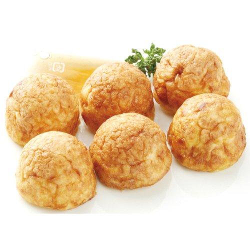 ニッキーフーズ 明石焼き(6個入り タレ付き) 193g(30gx6個+だし13g)  冷凍