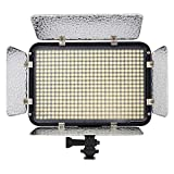 Craphy 504 LED PT-504S Photo Studio Barndoor Light High Brightness Portable Continuous Lighting Panel with White Orange Filters for Digital SLR JVC DSLR Camera DV Camcorder