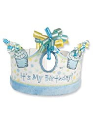 Blue Its My Birthday Crown