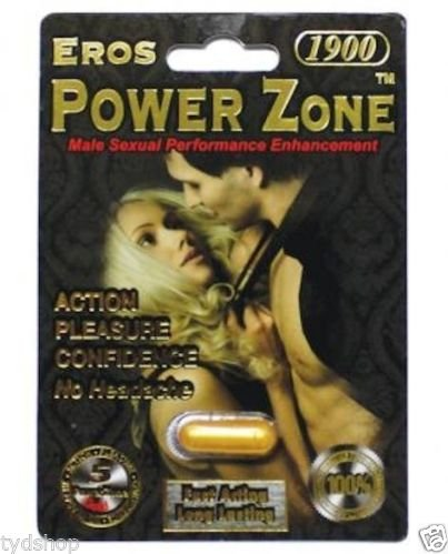Eros Power Zone Gold Male Enhancement Pill Increase Control And Thickness 1 Pk
