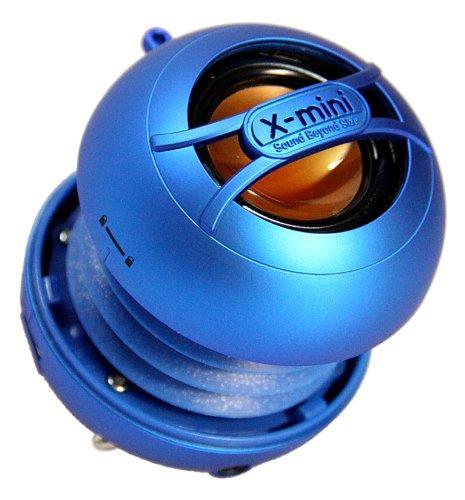 X-Mini Uno Xam14-Bl Portable Capsule Speaker, Mono, Blue