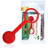 Xiemin Sports Clasp for Misfit Shine Sports Activity Tracker Monitor (Red)