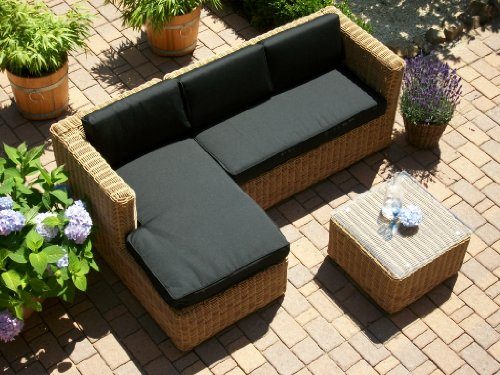 beste lounge wohnlandschaft sofa sessel tisch hocker rattan polyrattan geflecht bomey at billig. Black Bedroom Furniture Sets. Home Design Ideas
