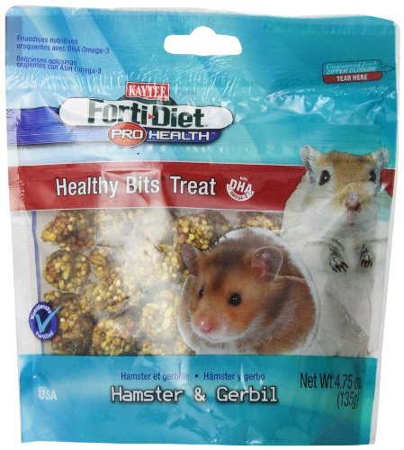 Kaytee Forti Diet Pro Health Healthy Bit Hamster Treat, 4.75-Ounce 51N65tt2qfL