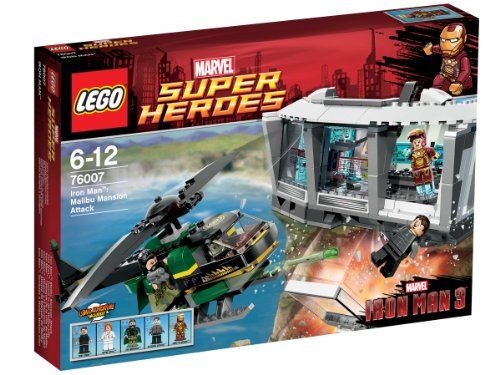 Mansion Attack 76 007 Of Malibu: Lego Super Heroes Iron Man? front-888766