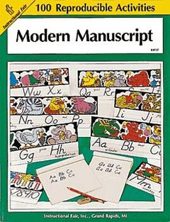 FRANK SCHAFFER PUBLICATIONS MODERN MANUSCRIPT