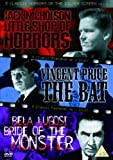 3 Classic Horrors Of The Silver Screen - Vol. 3 - Little Shop Of Horrors / The Bat / Bride Of The Monster [DVD]