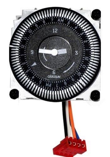 Pentair tmrlx 24 hours mechanical timer replacement for Garden treasures pool clock