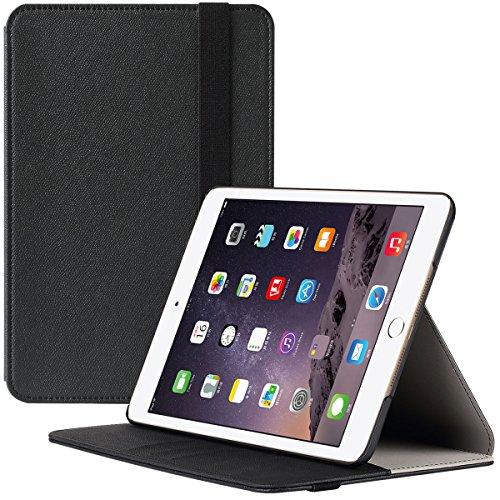 iPad Mini 4 Case, SUPCASE Apple iPad Mini 4 Case 2015 Release Premium Slim Hard Shell Leather Case Cover, 3 Year Manufacturer Warranty (Black) (Ipad Mini Hard Cover compare prices)