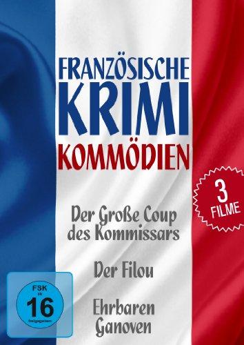 Französische Krimi-Komödien [3 DVDs]