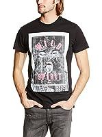 Diesel Camiseta Manga Corta T-Diego-Ia (Negro)