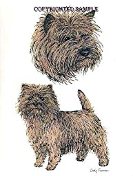Cairn Terrier - Double Image by Cindy Farmer