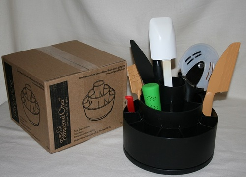 Amazon Com Pampered Chef Tool Utensil Holder Turn About