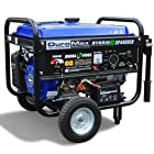 DuroMax XP4400EH 4,400 Watt 7.0 HP Dual Fuel Propane / Gas Powered Portable Electric Start Generator