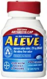 Aleve Tablets with Easy Open Arthritis Cap, 100 Count