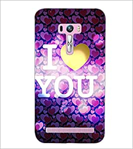 PrintDhaba Quote D-5974 Back Case Cover for ASUS ZENFONE SELFIE ZD551KL ULTRA (Multi-Coloured)