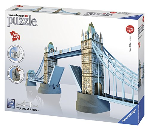 Ravensburger 12559 Tower Bridge Puzzle 3D Building