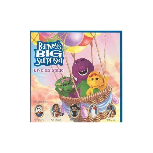 Amazon.com: Barney: Barney's Big Surprise: Live Recording