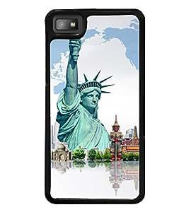 printtech Wonders of World Back Case Cover for BlackBerry Z10