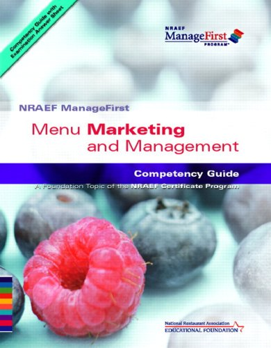 ManageFirst: Menu Marketing and Management with...