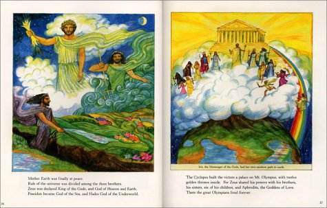 gods and goddesses of olympus
