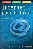 echange, troc Serge Guichard, Michèle Harichaux, Renaud de Tourdonnet - Internet pour le droit : Connexion - Recherche - Droit, 2e édition