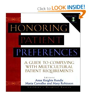 Honoring Patient Preferences Anne Knights Rundle, Maria Carvalho, Mary Robinson