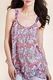 Per Una Floral Camisole Top [T62-3795I-S]